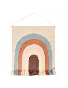 Wełniany dywan OYOY z tęczą Follow The Rainbow