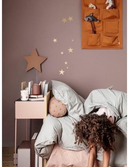 Drewniana lampa gwiazda Ferm Living Star - Mustard