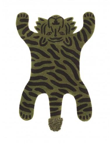 Dywan wełniany Ferm Living tygrys Safari Tufted Rug - Tiger