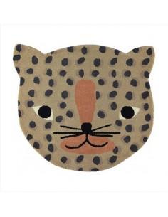 Wełniany dywan OYOY pantera Leopard