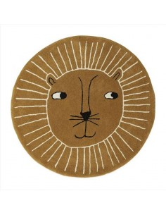 Wełniany dywan OYOY lew Lion