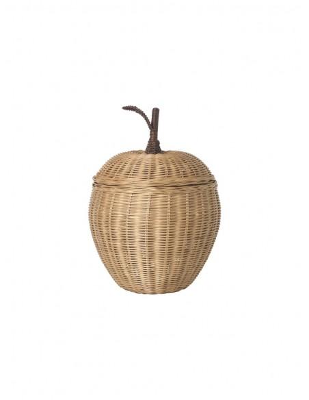 Pleciony pojemnik Ferm Living jabłko mały Apple