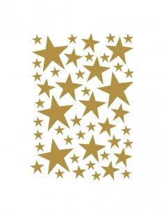 Naklejki Ferm Living złote mini gwiazdki