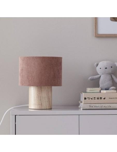 Lampa stołowa Kids Concept Sztruksowa Rust