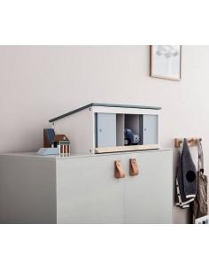 Garaż drewniany Kids Concept