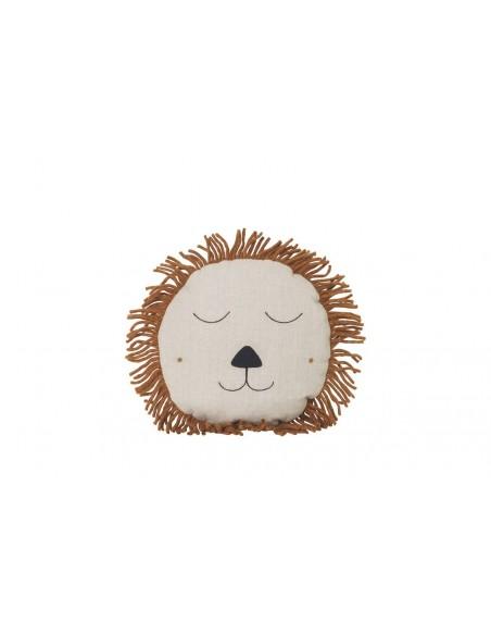 Poduszka Ferm Living lew Lion Natural