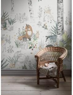 Mural Boras Newbie 7481 Magic Forest Magiczny las