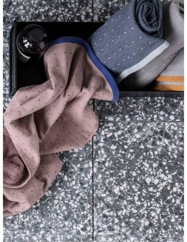 Ręcznik Ferm Living Sento Grey bawełna organiczna