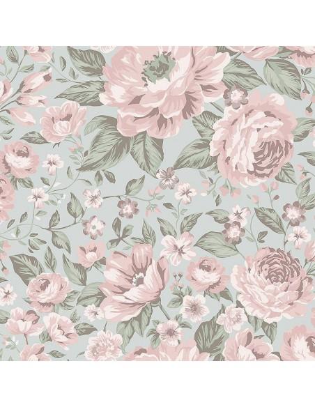 Tapeta Boras Newbie 7470 Rosie kwiaty KLEJ