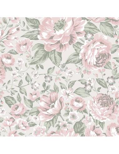 Tapeta Boras Newbie 7469 Rosie kwiaty KLEJ