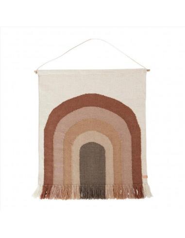 Wełniany dywan OYOY z tęczą Follow The Rainbow Choko