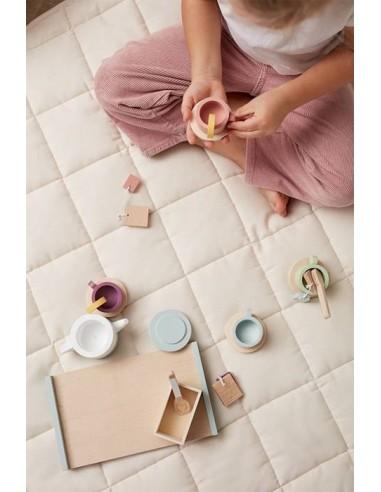 Drewniany zestaw do herbaty Bistro Kids Concept