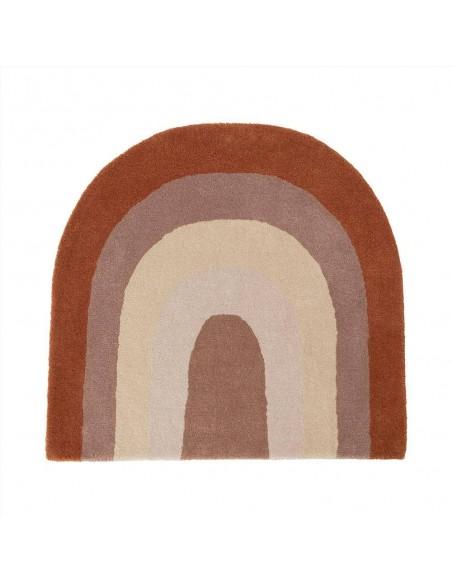 Wełniany dywan OYOY Tęcza Rainbow Choko