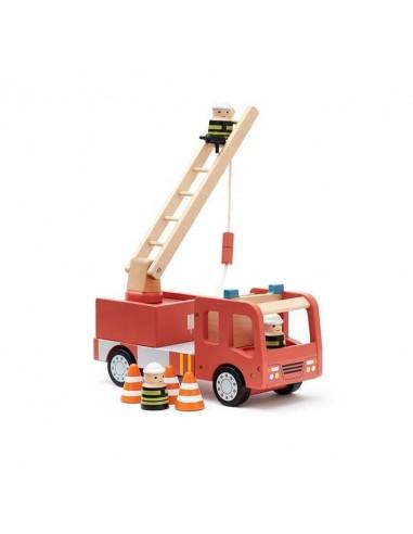 Wóz strażacka drewniana Aiden Kids Concept