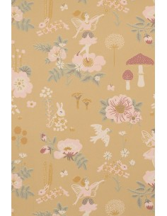Tapeta Majvillan 138-01 OLD GARDEN mellow yellow