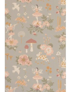 Tapeta Majvillan 138-02 OLD GARDEN gentle blue