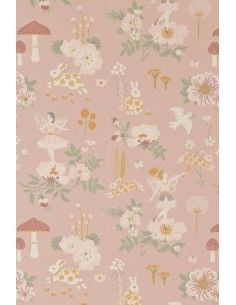 Tapeta Majvillan 138-03 OLD GARDEN dusty rose