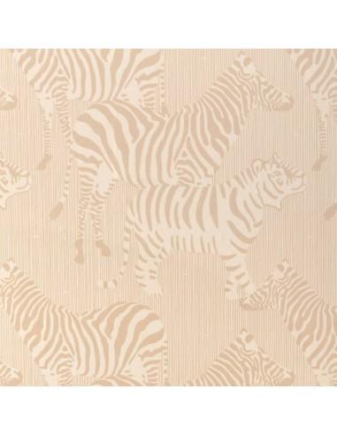 Tapeta Majvillan 141-02 SAFARI STRIPES dusty beige
