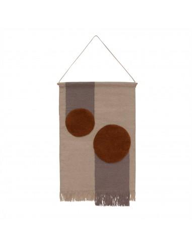 Wełniany dywan OYOY KIKA WALL RUG