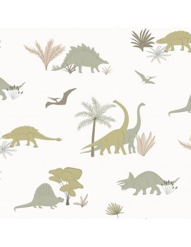 Tapeta Hibou Home DINOSAURS dinozaury