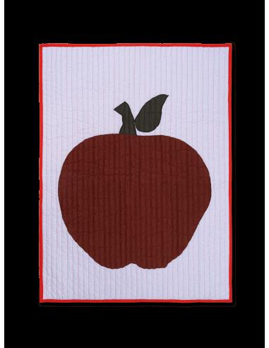 Mata ferm LIVING Jabłko Apple Quilted Blanket
