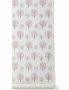 Tapeta Dotty Rose Ferm LIVING